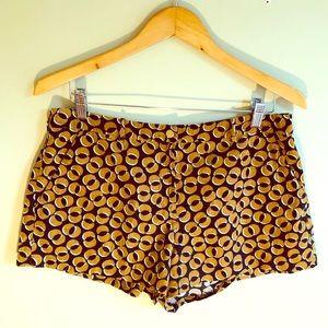DVF Diane Von Furstenberg Soft Corduroy Shorts -8
